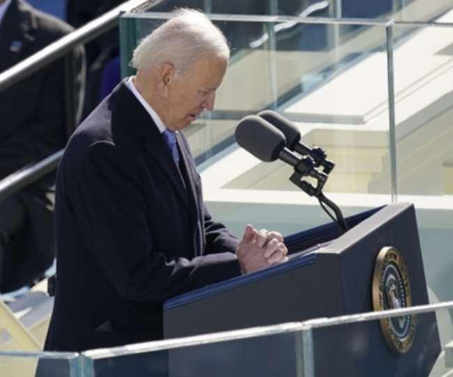 Joe Biden sworn in as 46th President of the United States, Also followed by Kamala Harris