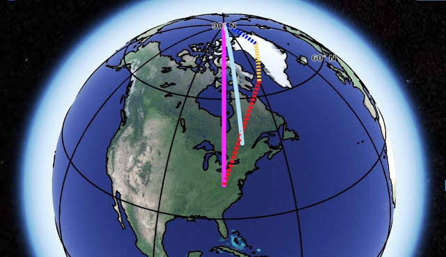 Scientists Identified Three Reasons Responsible for Earth's Spin Axis Drift