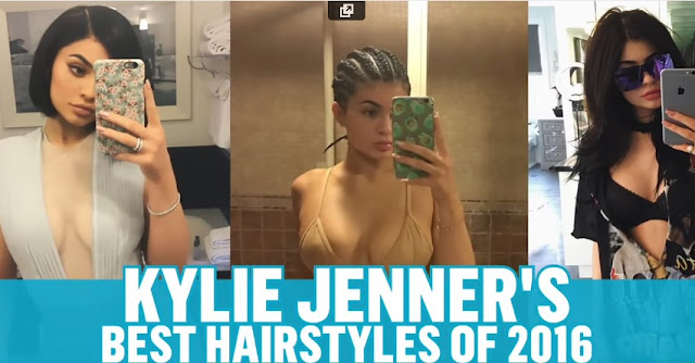 Kylie Jenner's Best Hairstyles of 2016