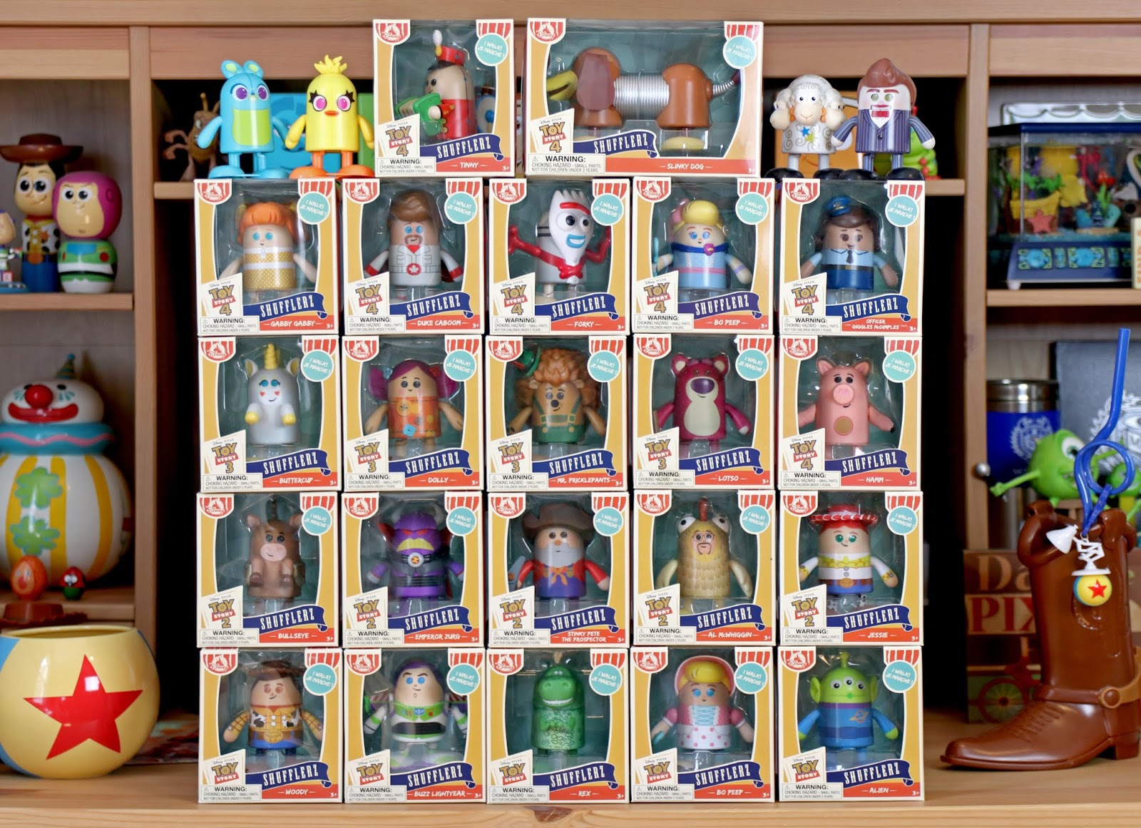 "Toy Story ""Shufflerz"" COMPLETE COLLECTION"