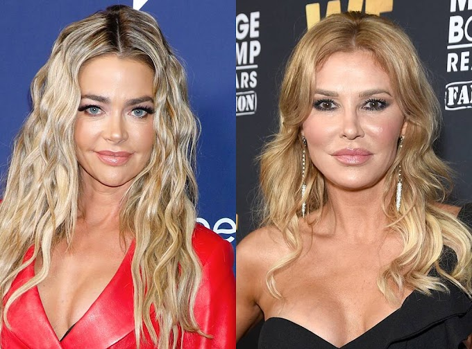 New Alleged Text Messages Between Denise Richards And Brandi Glanville Leak! Plus Denise Denies 'Tricking' Brandi Into Alleged Affair!