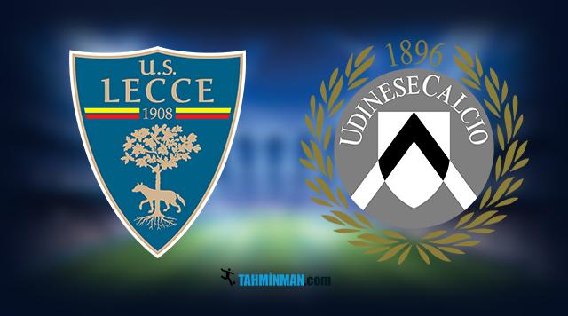 Lecce - Udinese maç tahmini
