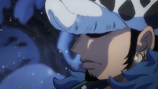 ワンピースアニメ  993話 ワノ国編   トラファルガー・ロー かっこいい トラ男   ONE PIECE Trafalgar Law