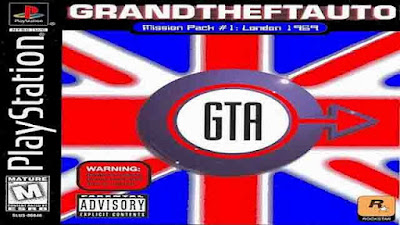 Download Game Grand Theft Auto Mission Pack #1: London 1969 ISO PS1 (PC