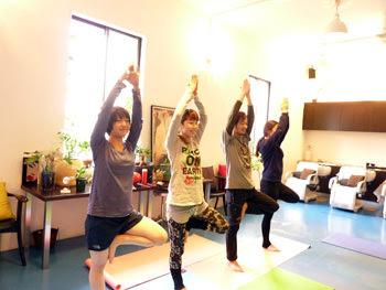 朝Yoga
