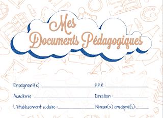 وثائق تربوية للأستاذ بالفرنسية للموسم الدراسي 2020.2019 بتصميم رائع