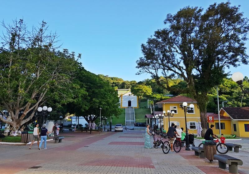 Centro histórico de Balneário Camboriú
