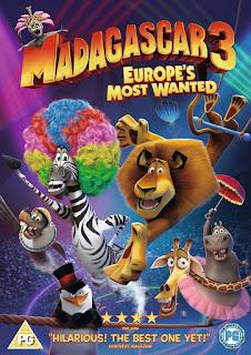 Madagascar 3: Europe's Most Wanted [2012] [DVDR] [NTSC] [Latino]