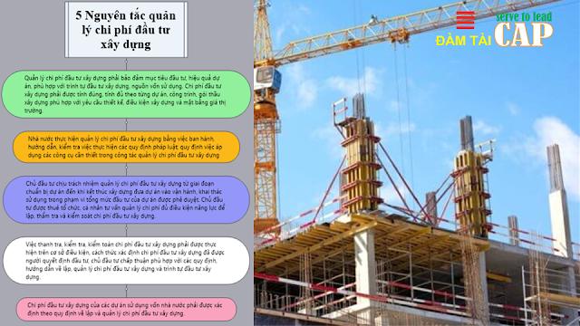 5 Nguyên tắc quản lý chi phí đầu tư xây dựng