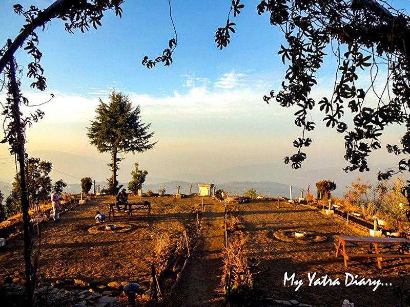 View from Corbett bungalow - Mukteshwar Uttarakhand
