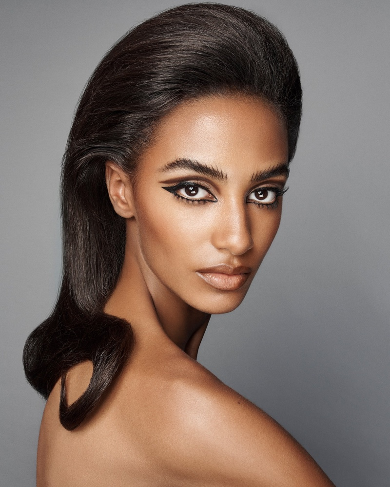 Sacha Quenby stars in Zara Beauty campaign.