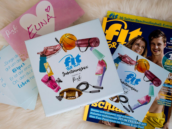 FIT FOR FUN Jubiläumsbox powered by Pink Box