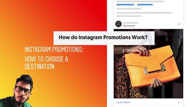 كيفية الترويج لمشاركاتك على Instagram واختيار وجهتك