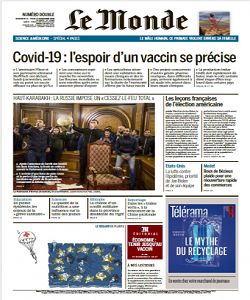 Le Monde Magazine 11 November 2020 | Le Monde News | Free PDF Download