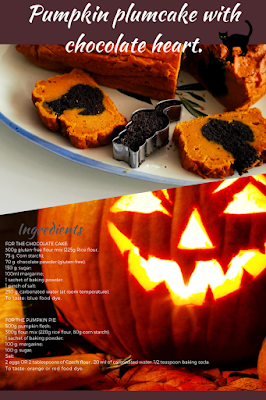 Pumpkin plumcake glutenfree vegan recipe