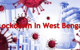 West Bengal GOVT Announced A Partial Lockdown