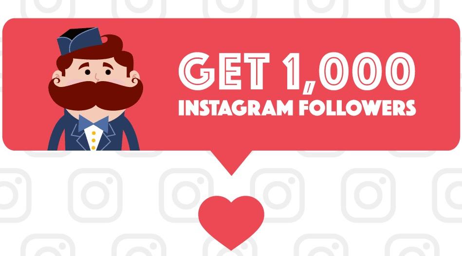 Get 1000 Followers on Instagram