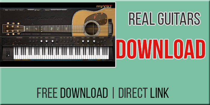 Real Guitars 2 and 3 Free Download VST Plugin - Mera PC