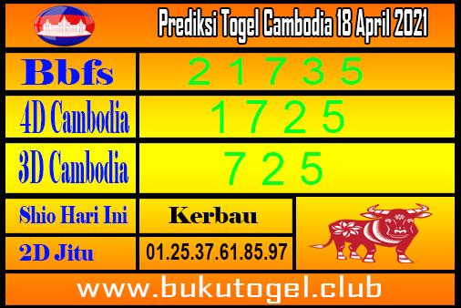 Prediksi Kamboja 18 Mei 2021