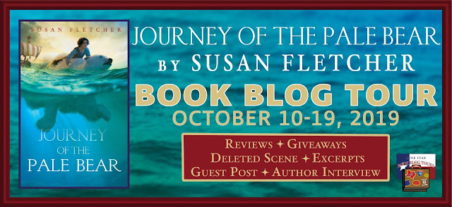Journey of the Pale Bear book blog tour promotion banner