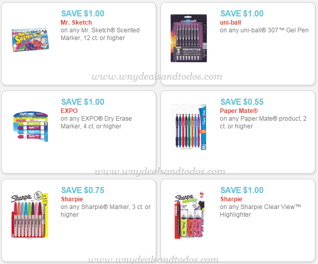 image relating to School Supplies Coupons Printable known as College Materials: 6 (6) Clean printable coupon codes in direction of help you save upon Mr