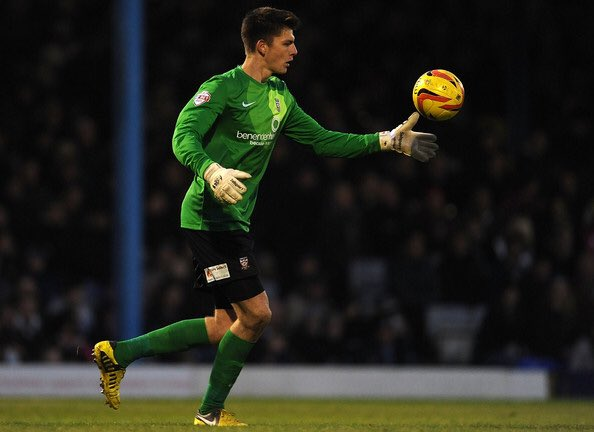 Nick Pope played 24 games for York City in the 2013/14 season
