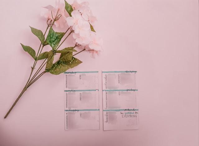 5 Minimalist Easy Weekly Bullet Journal Layouts