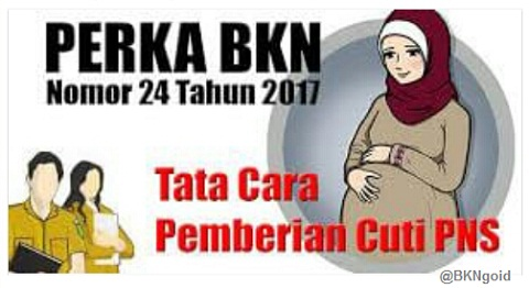 PNS Laki-Laki Yang Istrinya Melahirkan Dapat Diberikan Cuti Karena Alasan Penting Berdasarkan Peraturan BKN Nomor 24 Tahun 2017