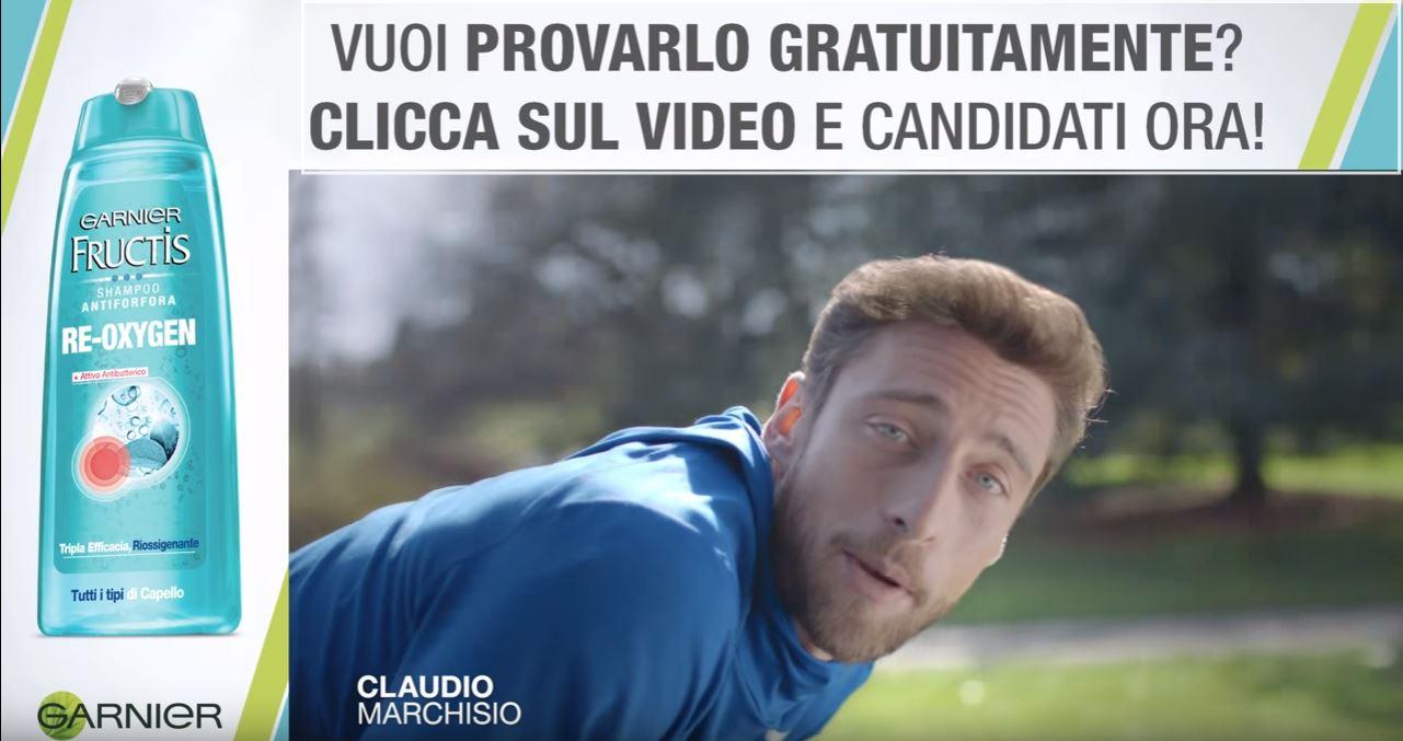 Canzone Pubblicità Garnier Fructis Antiforfora (Spot con Claudio Marchisio) | Luglio 2016