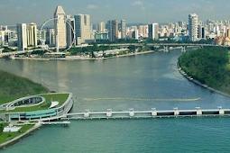 Marina Barrage Bendungan Dengan Rekayasa Teknik Sipil yang Inovatif di Singapura