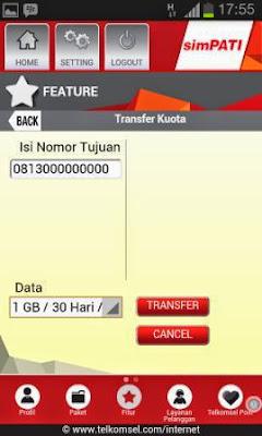 Cara Transfer Kuota Telkomsel Layanan Terbaru di Aplikasi My Telkomsel
