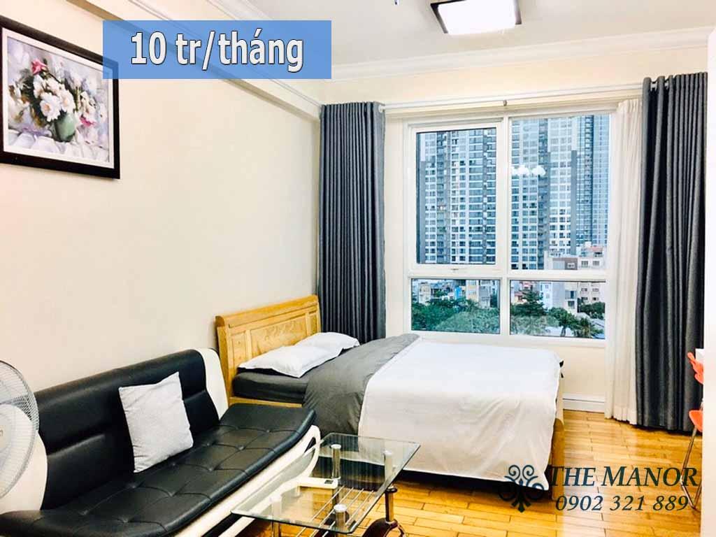 Chung cư Studio giá cực rẻ diện tích nhỏ The Manor 2