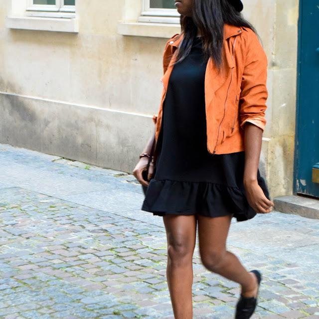 robe noire sheinside