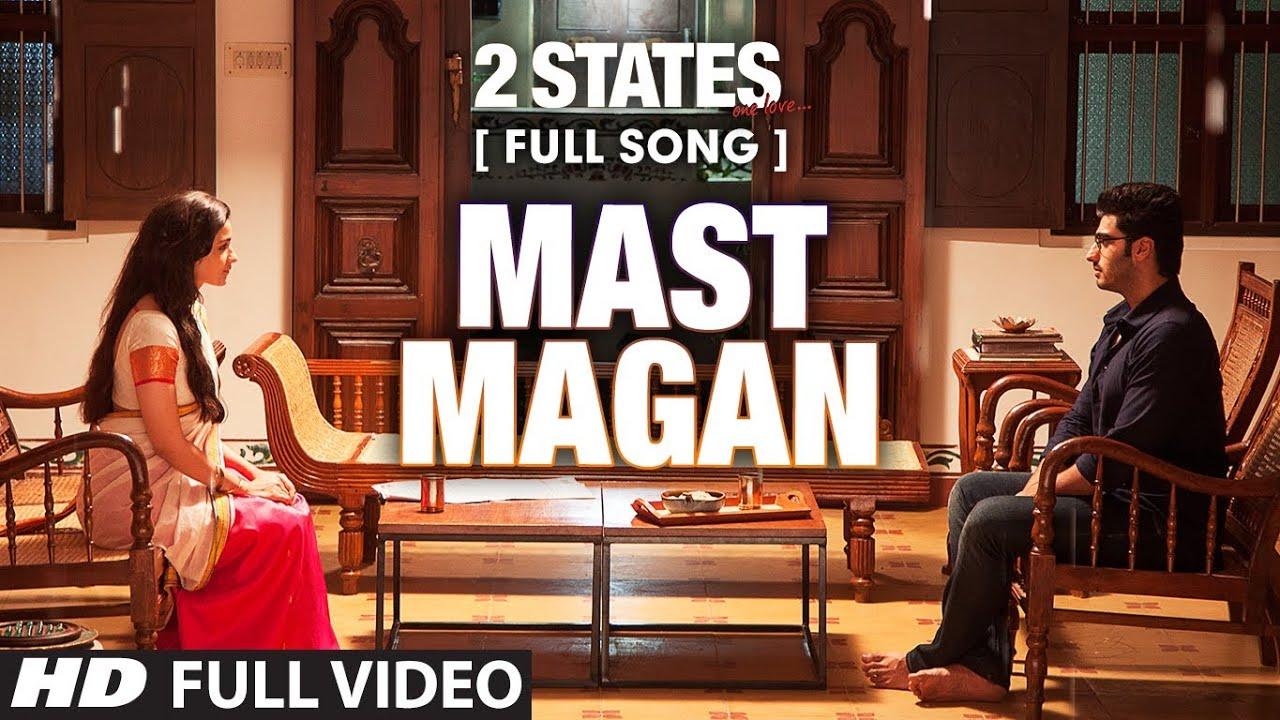 Mast Magan Lyrics in Hindi