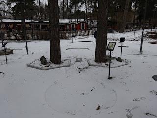 Golfbaren Aspudden minigolf course in Sweden