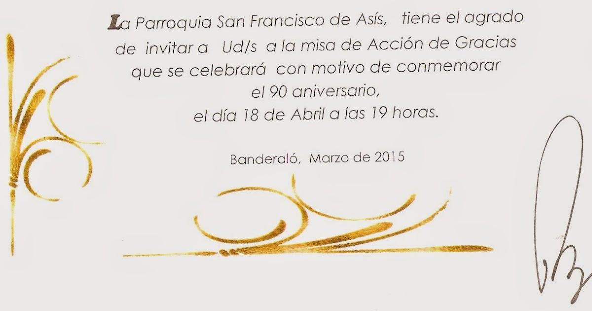 Banderaló Noticias En Venta Tarjetas 90 Aniversario Parroquia