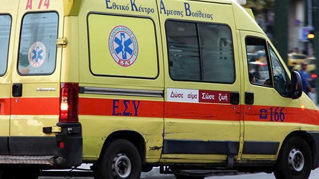 Αργολίδα: Τροχαίο ατύχημα με μηχανάκι στην Κάντια