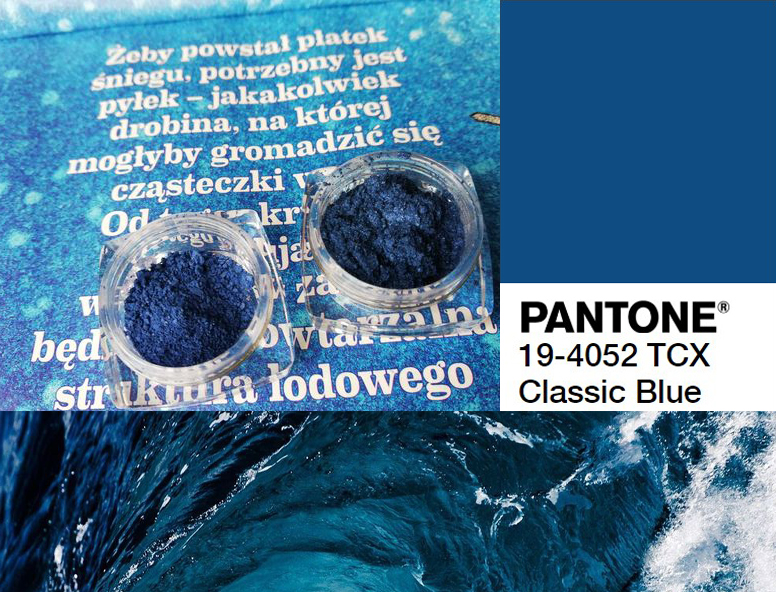 Classic Blue wg Kolorowka.com - pigmenty i bazy kolorystyczne w kolorze roku 2020. I odrobina analizy kolorystycznej.
