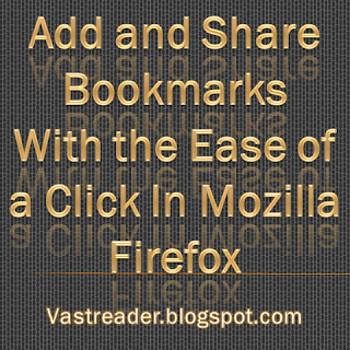Learn to add, share, edit, delete, import, export, folder, organize and group up Bookmarks with the ease of a click in Mozilla firefox Browser.
