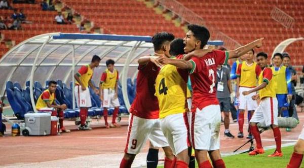 Kalahkan Laos, Indonesia Pastikan diri ke Putaran Final Piala Asia U-16 2018
