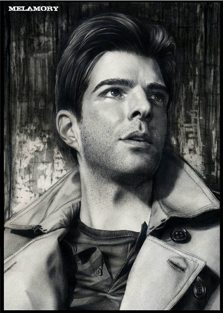 14-Zachary-Quinto-Olga-Larionova-Melamory-Realistic-Black-and-White-Portraits-of-Celebrities