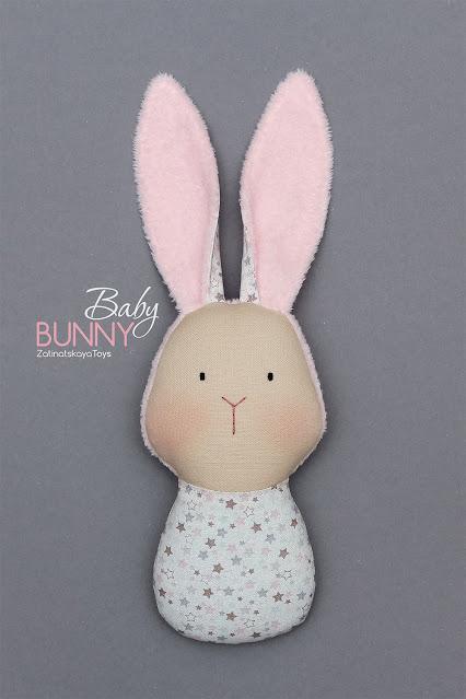 diy fabric bunny baby doll or toy