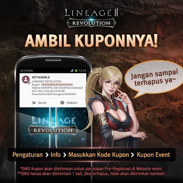 Cara Menggunakan Kupon Lineage 2 Revolution Indonesia