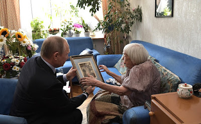 President Putin congratulated Lyudmila Alexeyeva on her 90th birthday.