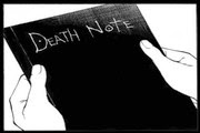 لعبة التدوين في مذكرة الموت Write in the Death Note game