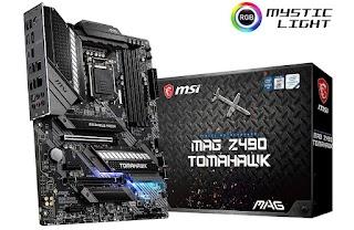 MSI MAG Z490 Tomahawk Gaming Motherboard