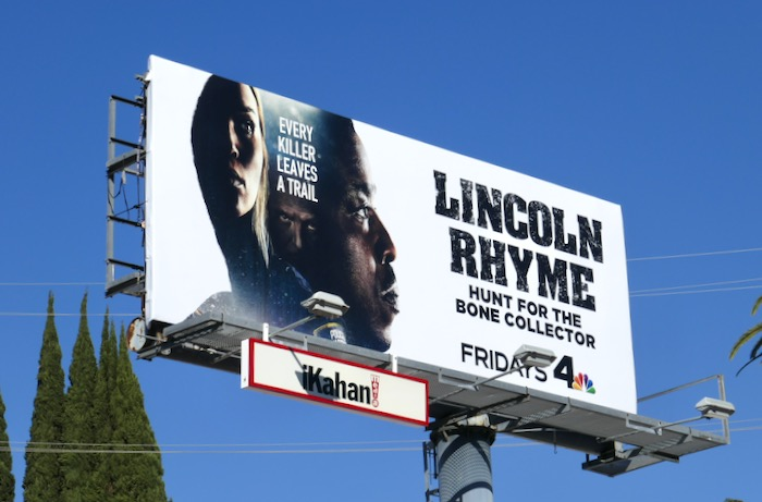 Lincoln Rhyme season 1 billboard