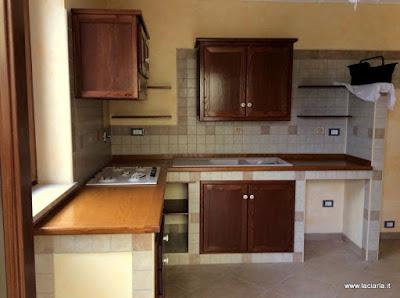 cucina-cucina in muratura