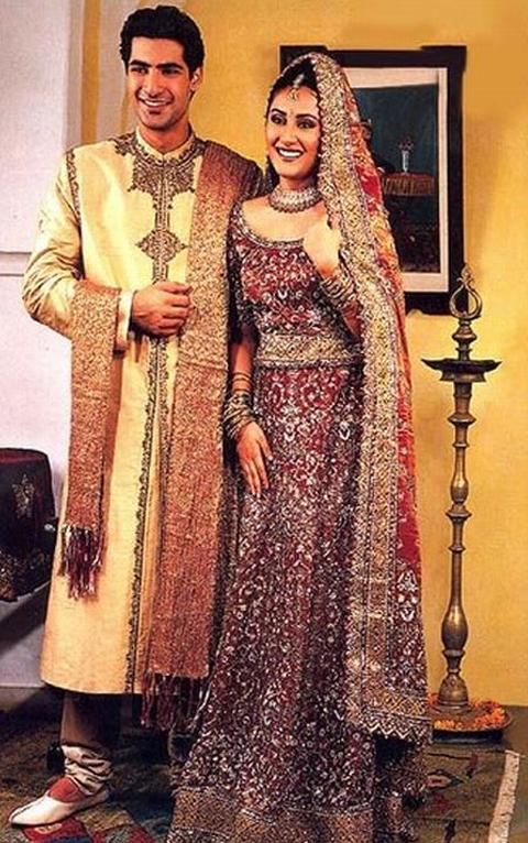 baju tradisional india lelaki dan perempuan
