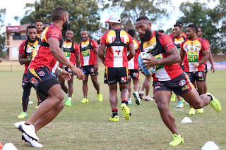 png hunters resume training papua new guinea today